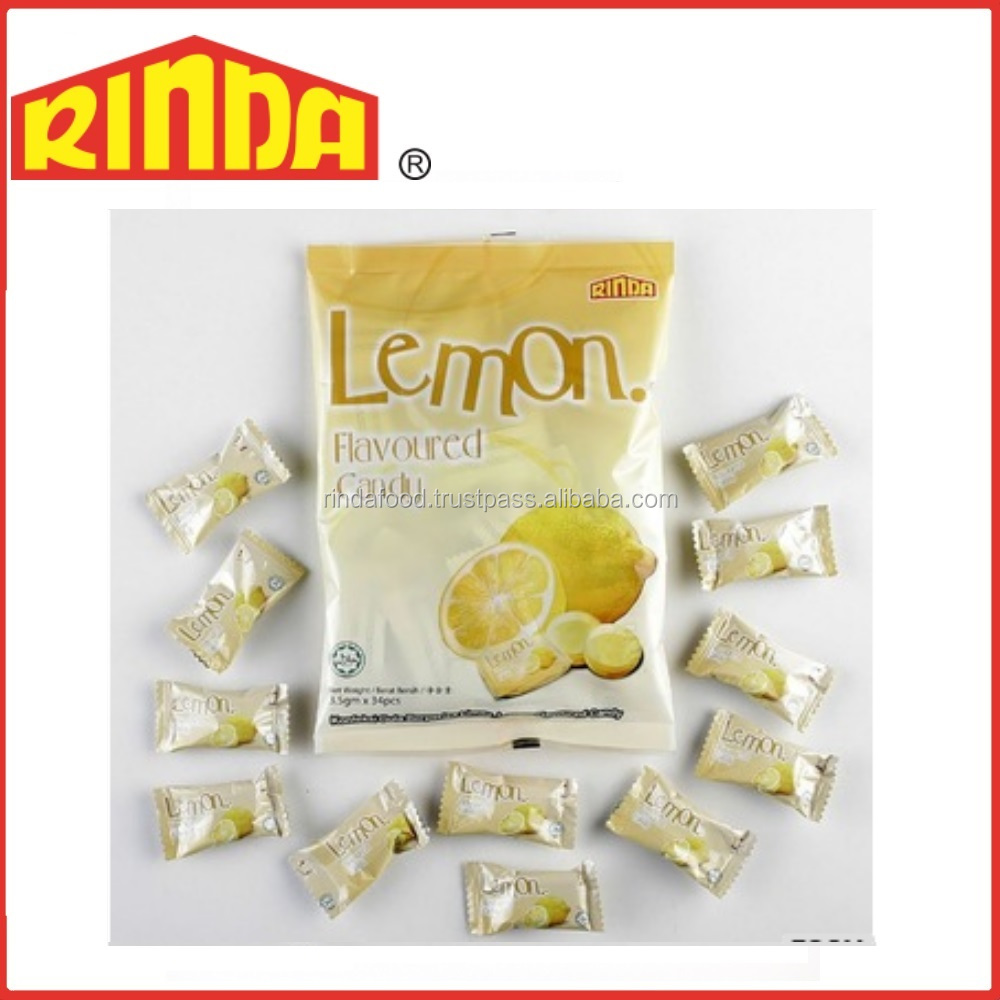 Lemon Flavoured Hard Candy Sweet