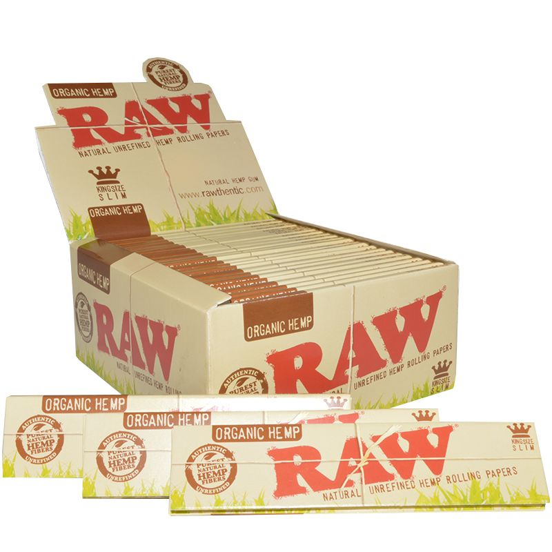 Premium Slim Raw Smoking Blättchen