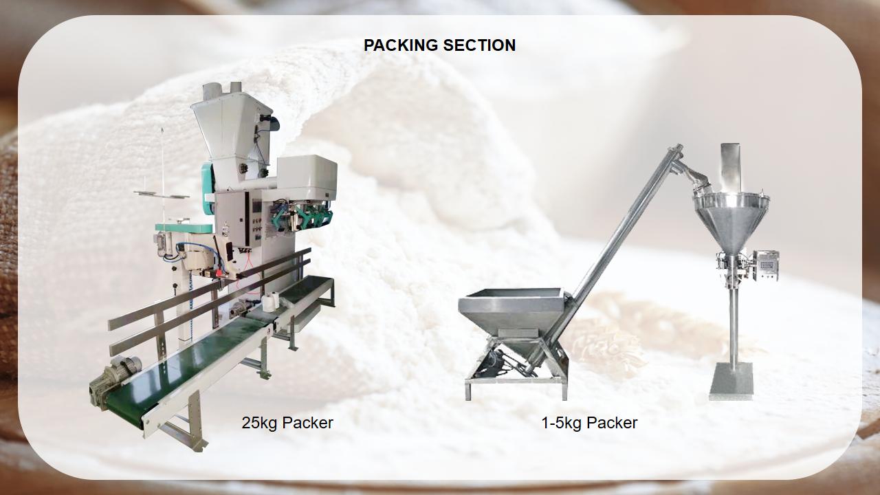 Nuovo food design grade 5-15 TD di farina di mais fresatura macchina/linea di lavorazione