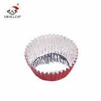 Chocolate packaging food grade foil cups 35x15mm round beauty colour printing aluminium foil cups CROUND35 yysmallcap