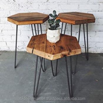 Hexagonal Coffee Table Buy Iron Coffee TableWooden Coffee Tables - Hexagon wood coffee table