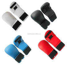 Karate Sparring Gloves taekwondo martial arts Karate Mitts Elasticated Padded Martial Arts Boxing Training MMA