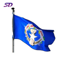 Commercial Professional Custom 3x5 Polyester Fabric Country Flags