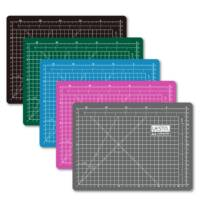 "A4 Self Healing Cutting Mat 300x220x3.0 mm 12"" 9"" Durable PVC Material High Density Surface 30 22 Angle Metric Grid"