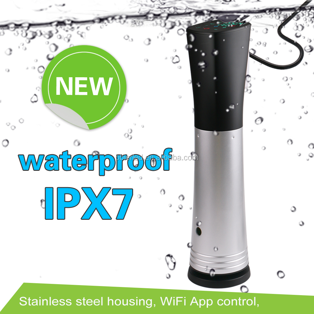 Newest Item Immersion Circulator Sous Vide Wifi Precision Cooker with IPX7