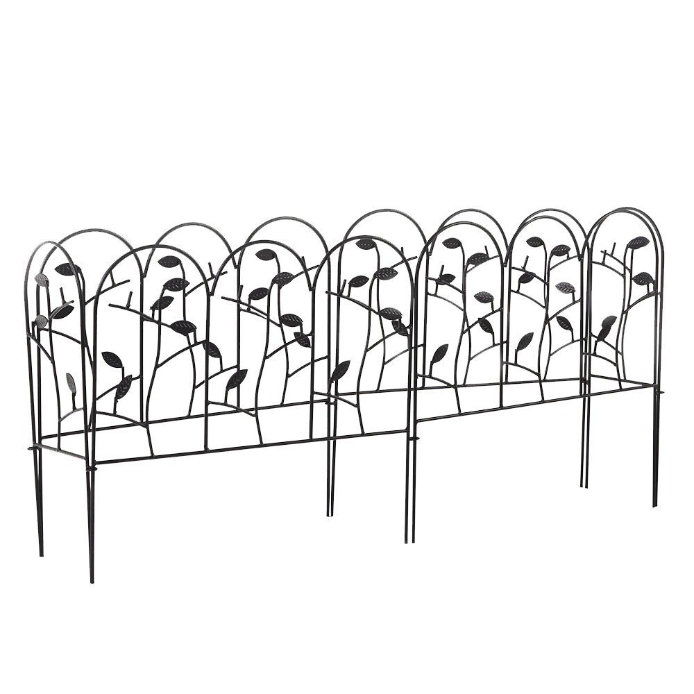 Buy 18 Inch Garden Fence Border Decorative Garden Fencing Animal ...