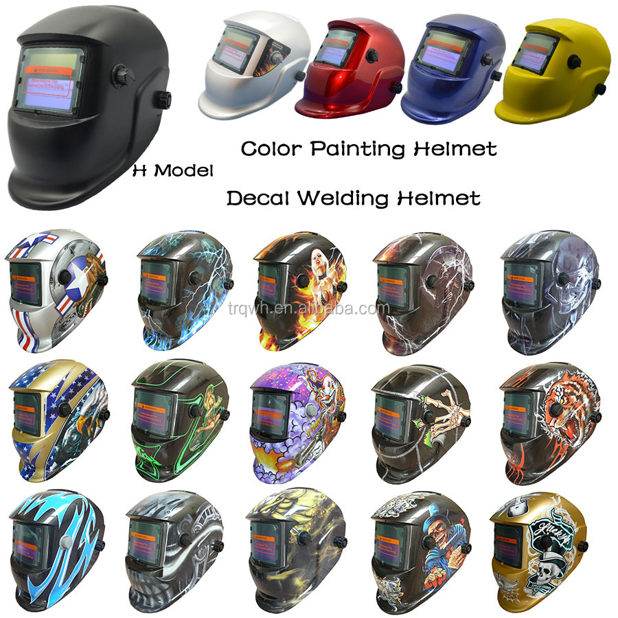 Din16 UV Protection Lithium Battery Replaced Welding Helmet Auto Darkening Welding Mask Solar