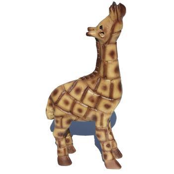 Carving Wood Large Giraffe Statue Handcarved Cedar Wooden Figurine Folk Ethnic Tribal Art Collection Sculpture Home Decor Crafts