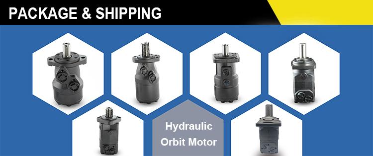 Axial Hydraulic Motor OMR-160SA1P แทนที่ Danfoss, Eaton Vickers Charlynn, Parker Orbit Hydraulic Motor ผู้ขายเครดิต