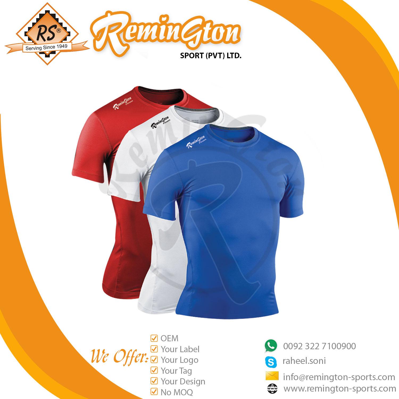 RF-140 Homens Camisetas de Manga Curta Top Camisas De Compressão Base de  camada Workout e2191f0116d89