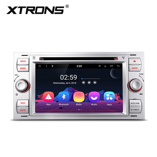 Xtrons Car Accessories Android 8 1 Octa-core 2gb Ram Car Dvd Player For  Ford Fiesta/focus With Radio - Buy Car Dvd Player Radio,Car Accessories For