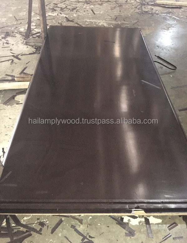 High Quality Building Timber Black And Brown Film Faced Plywood