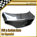 For Hyundai Coupe Genesis 09 OEM Carbon Trunk Boot Lid