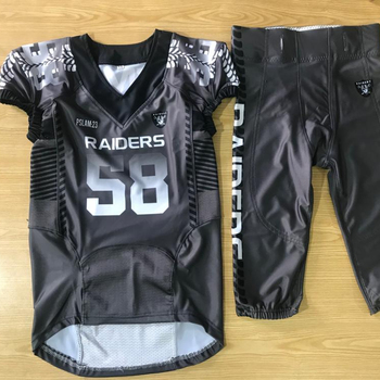 Customized Sublimation Youth American Football Uniforms