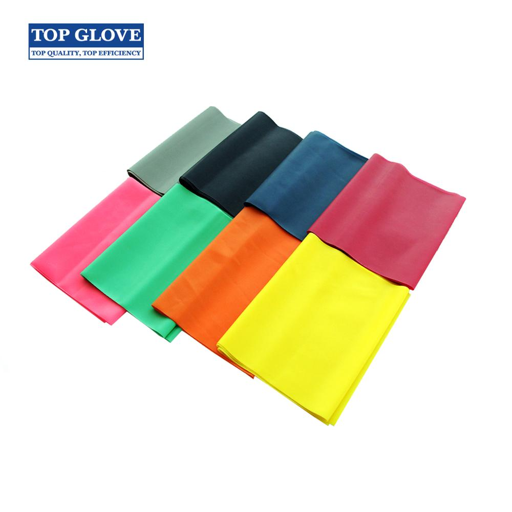 Kwaliteit Rubber Resistance Bands Set Fitness Workout Elastische Training Band Voor Yoga Pilates Band Bodybuilding Oefening