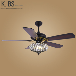 Modern Lighting Ceiling Fan Pull Chain Fancy LED Pendant Ceiling Light With Fans