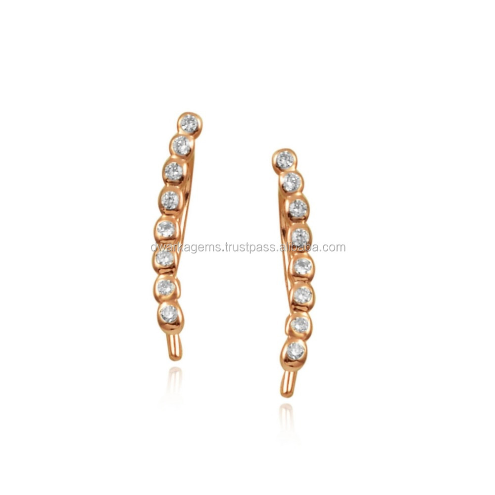 jewelry white hoop stone accessories earrings