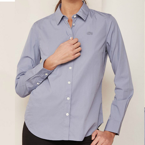 Ladies Custom Shirt Work Wear Uniforms - Cotton or Polyester Workwear OEM Working Uniform Shirts For Womens