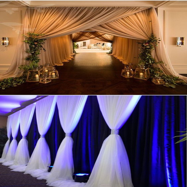 Rk Wedding Hall Decorations,Backdrop Pipe And Drape For Wedding