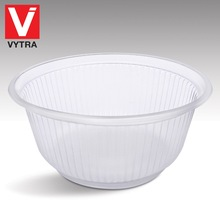 Vytra Catering Use 750ml / 25oz Disposable PP Plastic Soup Bowl