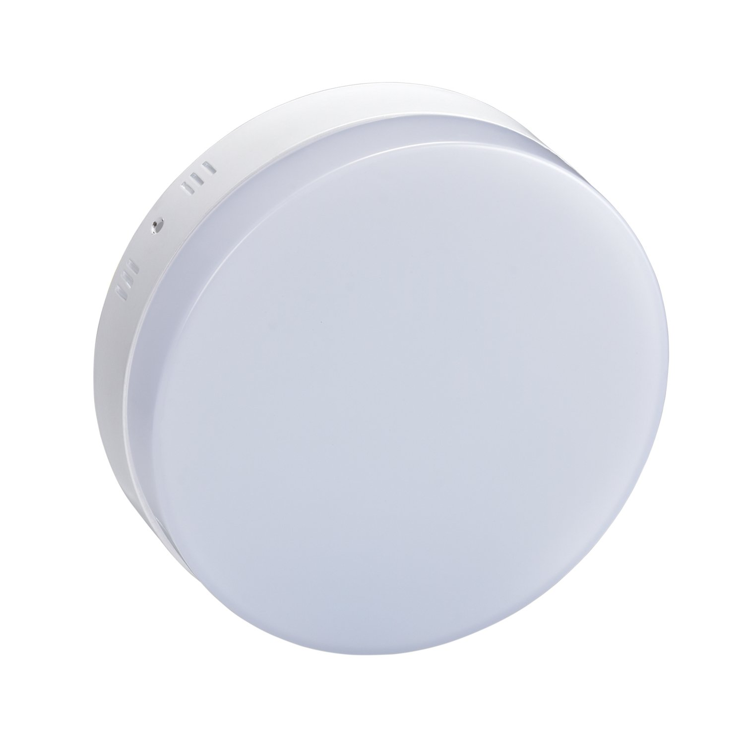 Bathroom Ceiling Light,Surface Mount Round Led Ceiling Light 12W 960LM Flush Mount Panel Lighting Super Bright,Bathroom-6000K(Daylight White)
