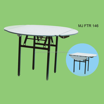 Modern Portable Folding Round Used Banquet Dining Tables MJ FTR 146