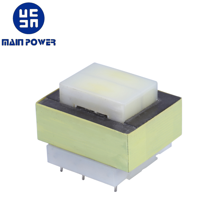 EI type 12v 120v low frequency linear transformer