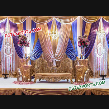Muslim Walima Stage Decorations Maharaja Indian Wedding Stage Indian