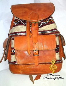 735c9c4b69ff Handmade Moroccan Backpack Wholesale