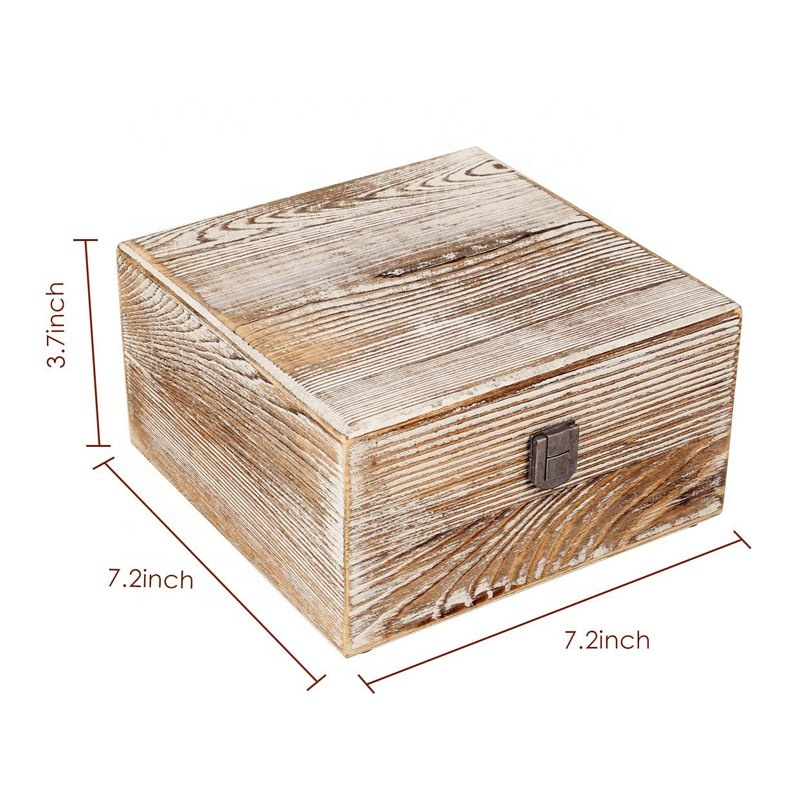 Rustic Essential Oil Wooden Storage Box wooden display Essential oil box