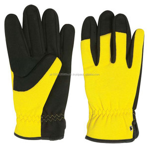 Mechanic Gloves Custom Laminated Cotton Fabric gloves