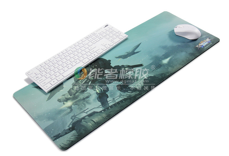 Eco-friendly natural rubber material game mat