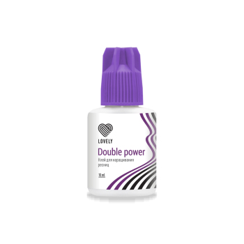 "Black EyeLash Glue Lovely ""Double Power"""