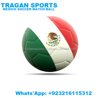 INTERNATIONAL MEXICO SOCCER MATCH BALL Mexican Country Flag Soccer Ball