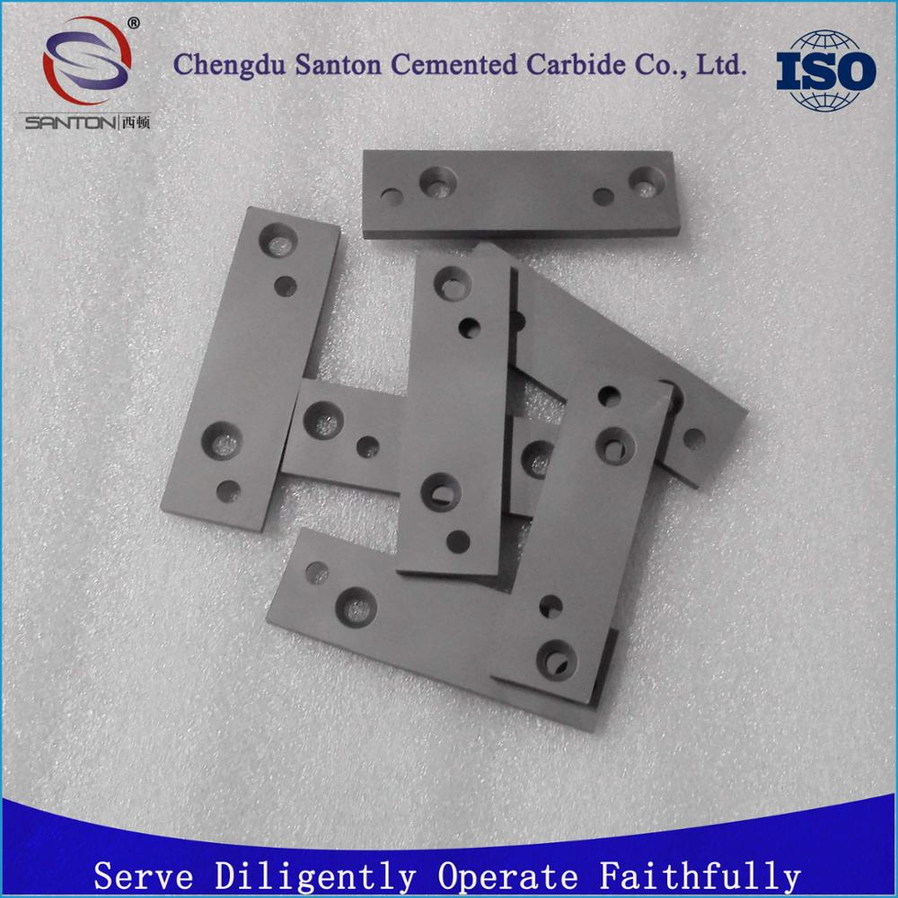polished tungsten carbide fiber cutting blade