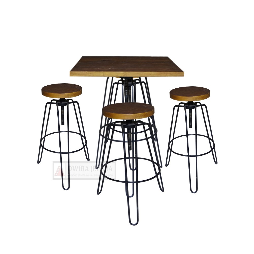 Pub Table Set Bar Furniture
