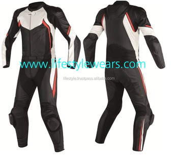 Motorcycle Track Suits One Piece Leather Suit Body