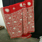Fully handwork saree on super georgette fabric