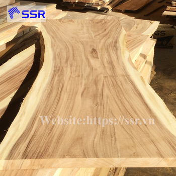 Acacia/Wenge/Black Walnut Wood Table Top For Dinning Furniture From Vietnam
