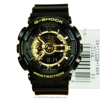 GA-110GB-1A Black Gold Limited Edition Analog Digital Watch