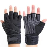 2018 Custom Made Non Slip Weight Lifting Gloves / Gym Cross fit Training gloves