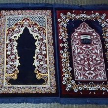 prayer mats islamic velvet fabric