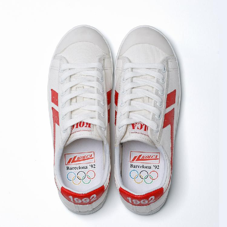 White sale casual whole shopping KOLCA1992 Online Red shoes Barcelona 17z0wHx