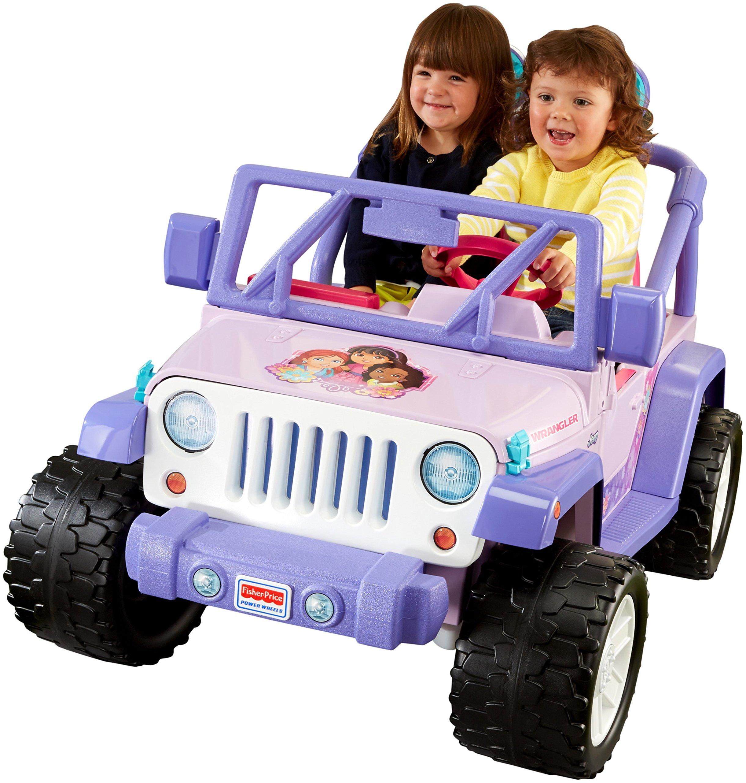 Power Wheels Fisher-Price Nickelodeon Dora & Friends Jeep Wrangler