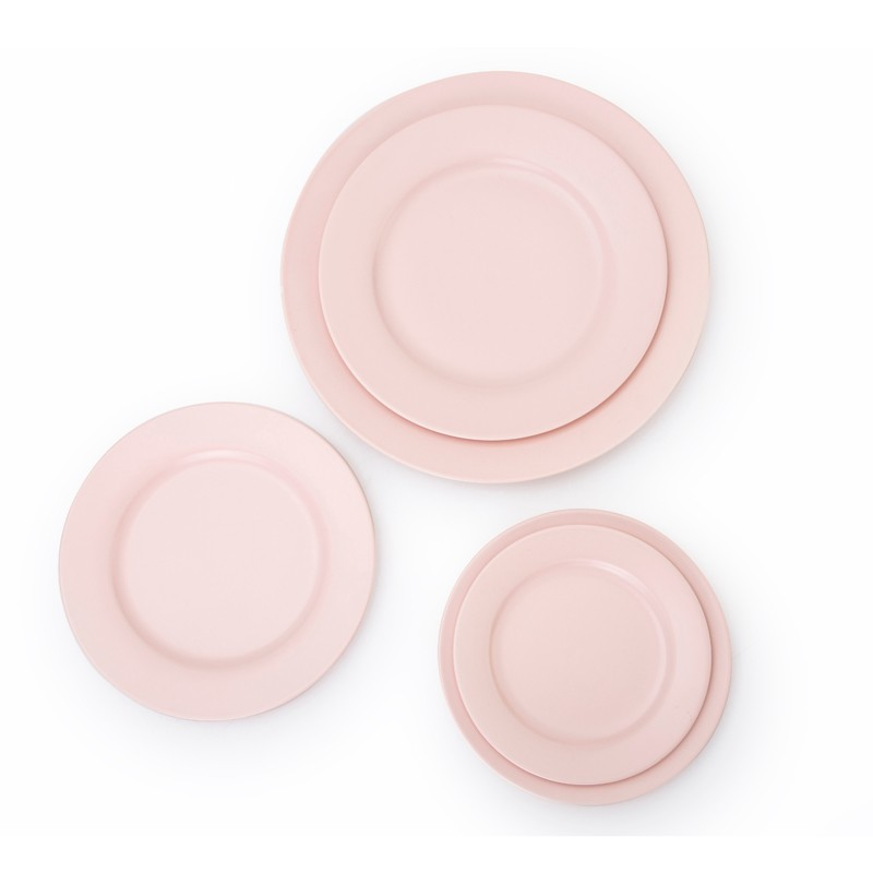 product-Two Eight-New Design Crockery Porcelain Hotelware Flat Serving Plates, Wedding Plates Sets D