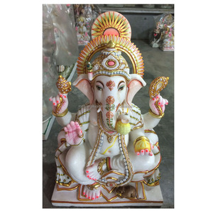 Decoration Marble Ganesha Murti