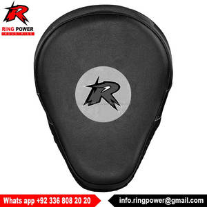 Leather Boxing Training Mitt Target Focus Punch Pad Glove Punch Mitts