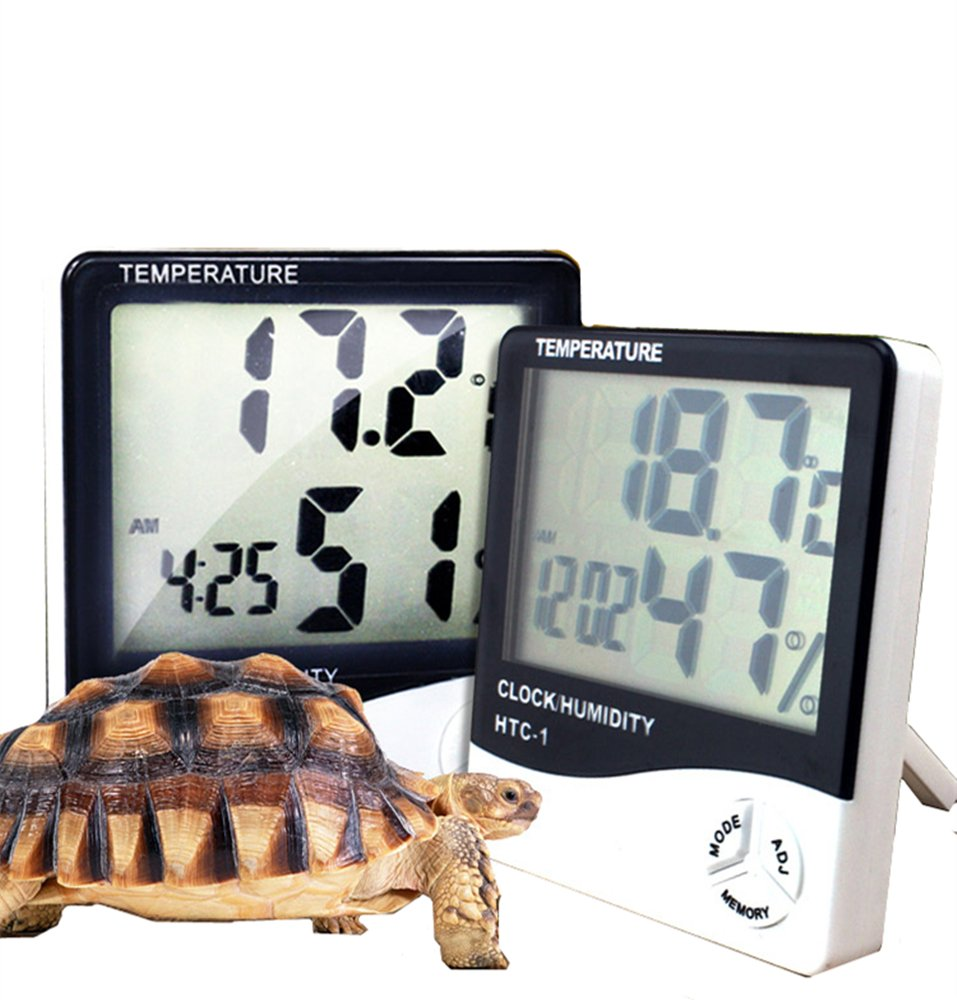 DREAMER.U Hygrometer Thermometer Indoor Humidity Monitor with Temperature Gauge Humidity Meter, Indoor Reptile Raising Box Humidity Monitor