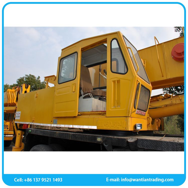 China supplier chinese product 50ton mobile used crane