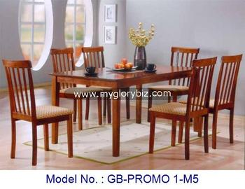 1 4 Or 1 6 Dining Chairs And Table Set Modern Design Malaysia Solid